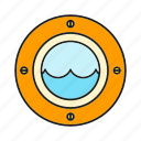 marine, nautical, ocean, submarine, underwater icon