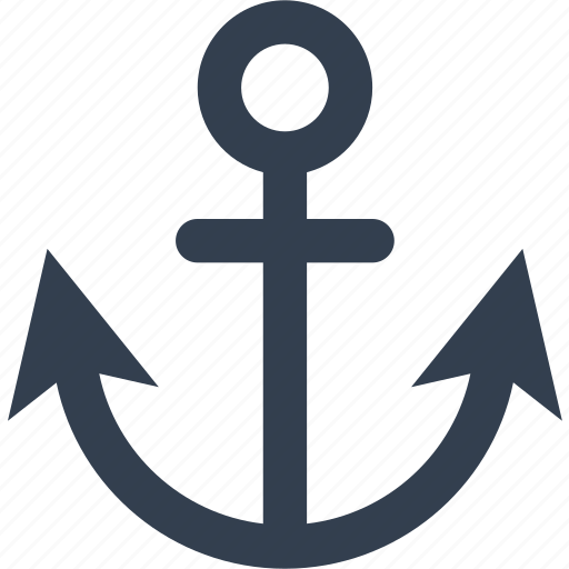 anchor, marine, nautical, sea, ship, travel, weight icon