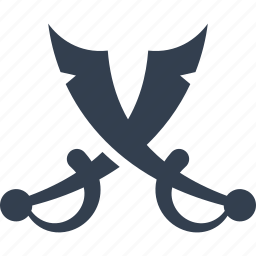 fight, marine, military, nautical, pirate, pirates, sword, war, weapon icon