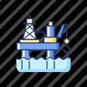 oil industry, underwater, drilling, marine