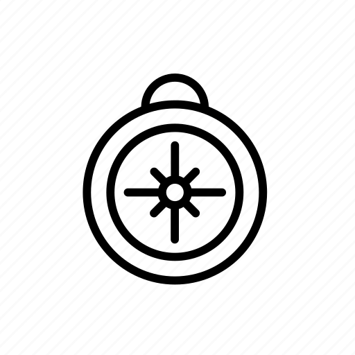 compass, instrument, marine, nautical, sea, tool icon