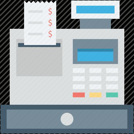 cash register, cash till, point of sale, pos, till supplier icon