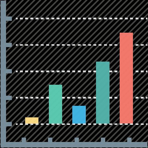 bar chart, bar graph, financial chart, graphic, statistics icon