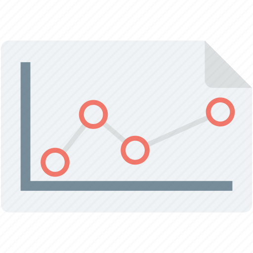 analytics, graph report, growth chart, line graph, report icon