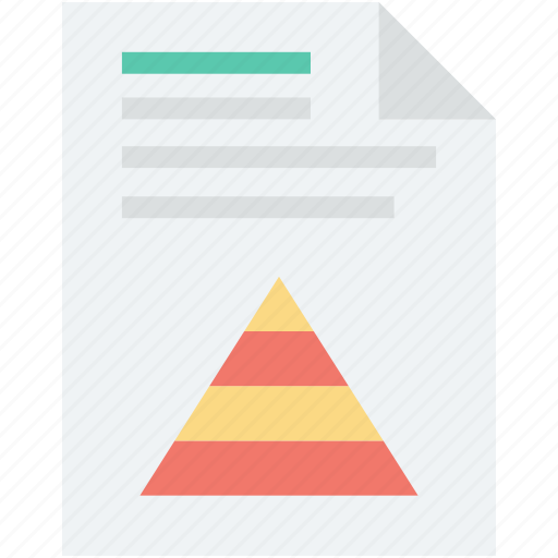 business graph, data, graph report, pyramid graph, report icon