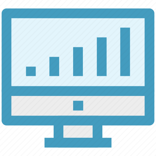 Chart, graph, lcd, lcd graph, monitor, statistic icon - Download on Iconfinder