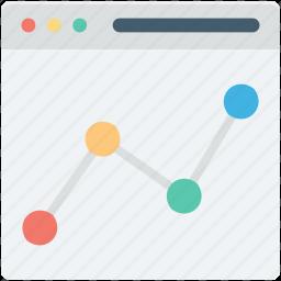 diagram, infographic, online analytics, online graph, web analytics icon