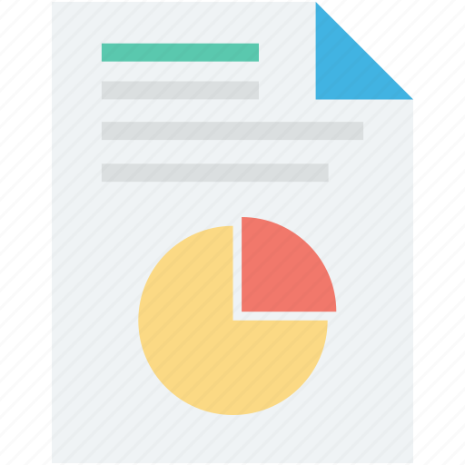 analytics, clipboard, graph report, pie chart, pie graph icon