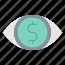 business, market, market & economics, strategy, vision icon