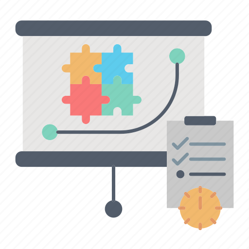management, market & economics, marketing, planning, strategy icon