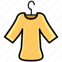 costume, dress, mall, market, shopping, store, t-shirt icon