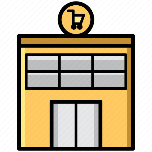 mall, market, shop, shopping, store, trade icon