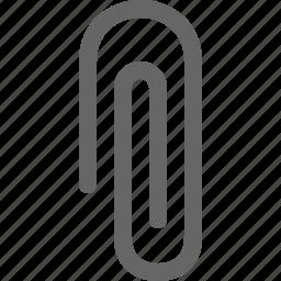 attach, attachment, clinch, clip, market, office, paperclip icon
