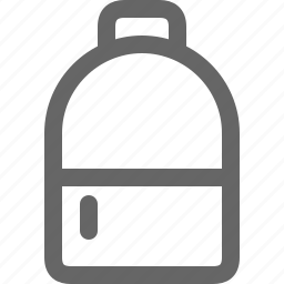 backpack, bag, kamping, market, streamline, travel, trekking icon