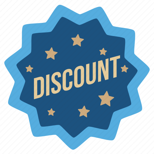 discount, label, ribbon, shopping, sticker, tag icon