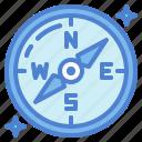 compass, maps, navigation icon