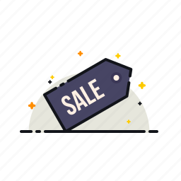 free, label, offer, ribbon, sale, shopping, tag icon