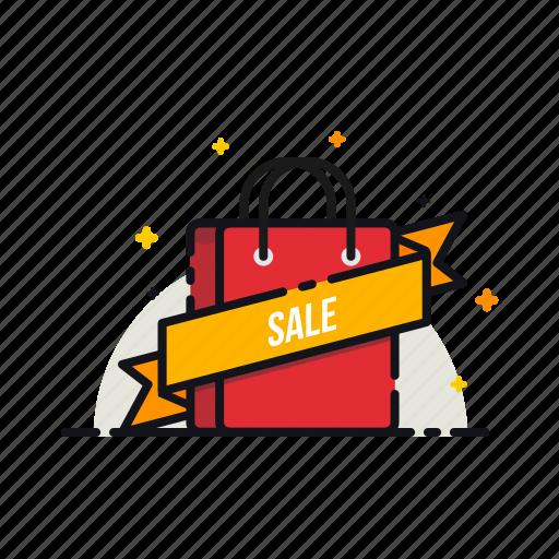d3a0b07b291 Cart, label, online, ribbon, sale, shopping, tag icon