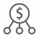 finance, marketing, money, payment, strategy icon