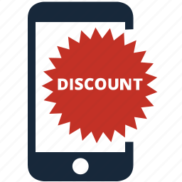 coupon, discount, ecommerce, guardar, mobile, price, save, voucher icon