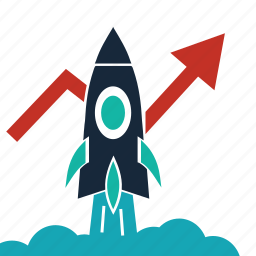 launch, mission, rocket, space, speed, start up, startup icon