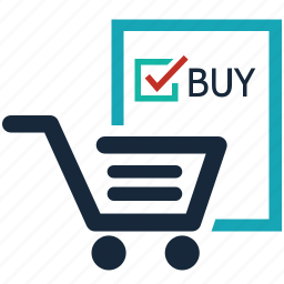 added, buy, cart, checked, ecommerce, online shopping, shopping cart icon