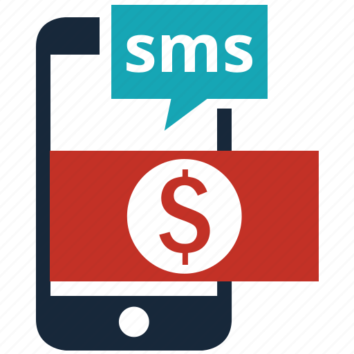 ecommerce, mobile, money, online shopping, phone, price, sms icon