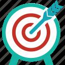 aim, bullseye, business success, goal, marketing, objective, target