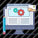 blog, management, blogging configuration, online article, writing configuration, weblogging, blog management