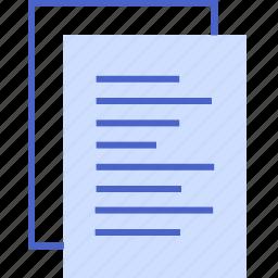 blog, paper, readme, seo, writer icon