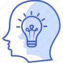 thinking, business and finance, idea, plan icon