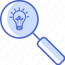 seo, search, magnifying glass, zoom, tools and utensils icon