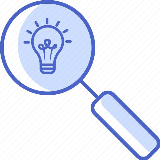 magnifying glass, search, seo, tools and utensils, zoom icon