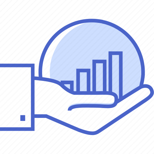 analysis, business and finance, chart, graph, growing, statistics icon