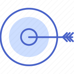 dart board, marketing, planing, seo and web, target, weapons icon
