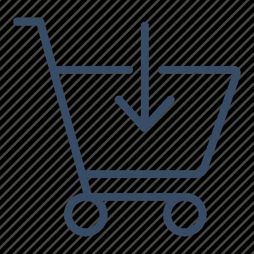 basket, buy, cart, marketing, media buys, sale, shopping icon