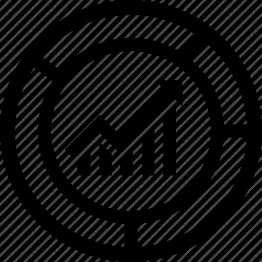 analysis, assessment, market, study icon