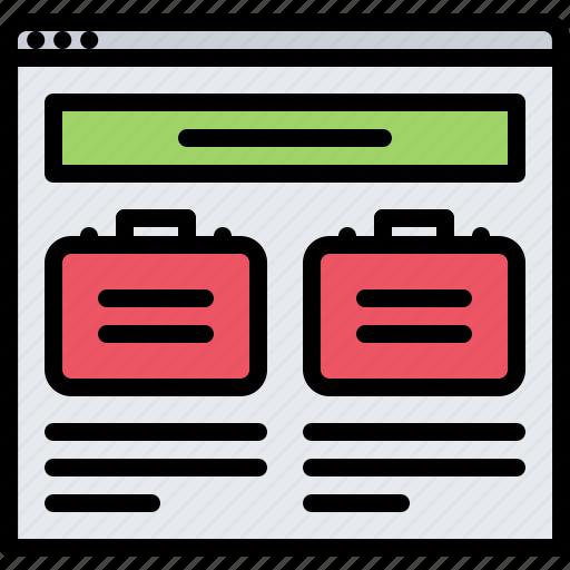blog, case, marketing, news, promotion, seo icon
