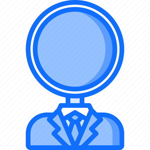 Magnifier, marketing, promotion, search, seo, specialist icon - Download on Iconfinder