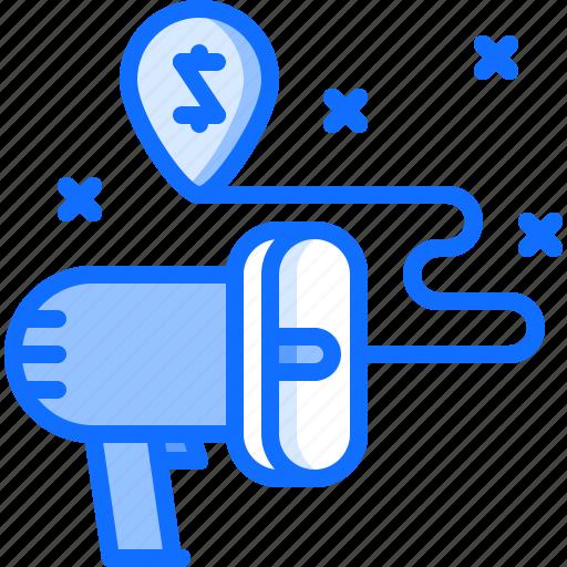 marketing, megaphone, promotion, seo, strategy, target icon