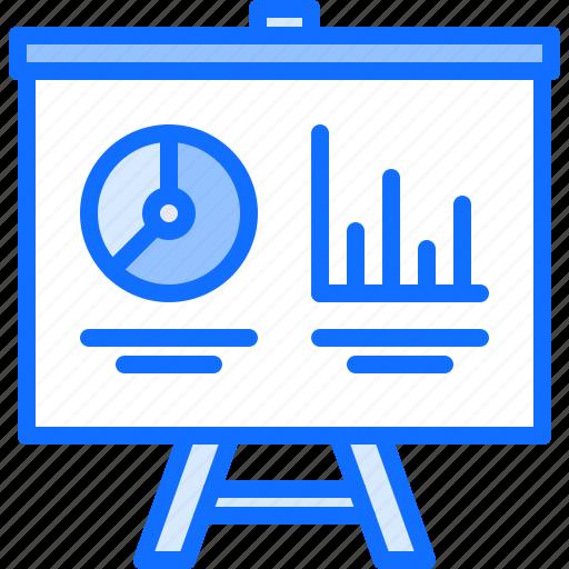 diagram, graph, marketing, metrics, presentation, promotion, seo icon