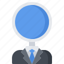 magnifier, marketing, promotion, search, seo, specialist icon