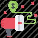 marketing, megaphone, promotion, seo, strategy, target