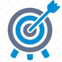 archery, arrow, bullseye, goal, marketing, target, targeting icon