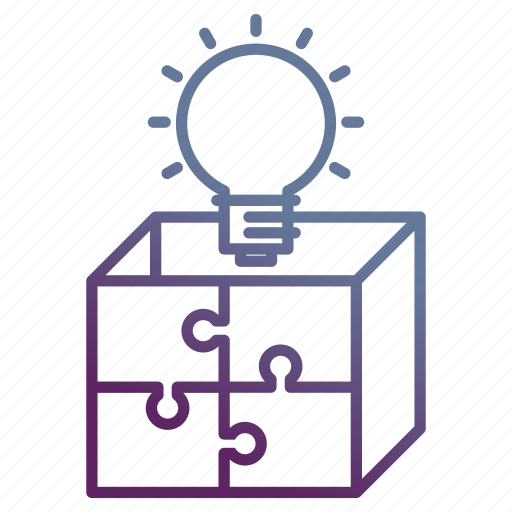 box, marketing, solution, strategy icon