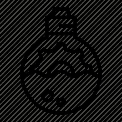 analysis, gear, lamp, light, marketing, marketing icon icon