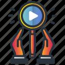 growth, marketing, marketing icon icon