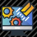 envelope, fast, gear, marketing, marketing icon, online, speed icon