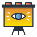 board, eye, marketing, marketing icon, outbound, show