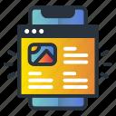 device, engagement, marketing icon, web, website icon